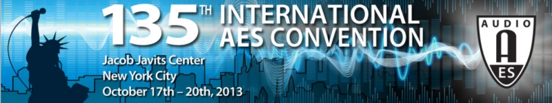 135th AES Convention New York